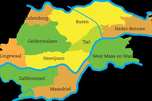 kaart-rivierenland